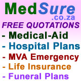 Free Medical Aid Scheme and Hospital Plan quotes